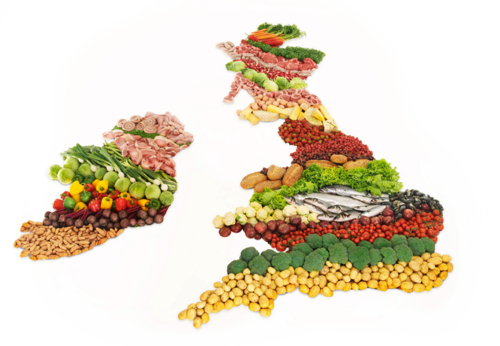 Eat Britain Map